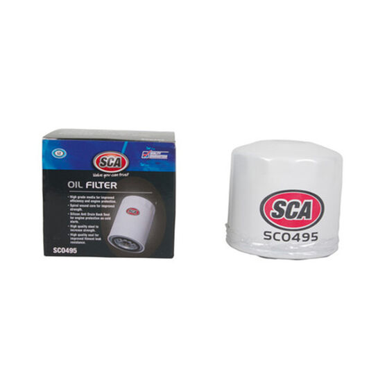 SCA Oil Filter - SCO495 (Interchangeable with Z495), , scaau_hi-res