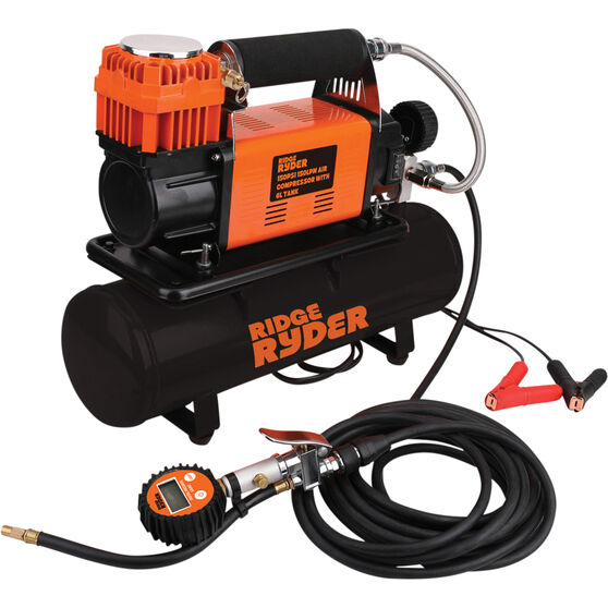 Ridge Ryder Air Compressor with Removable Tank 12V, , scaau_hi-res