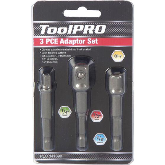 ToolPRO Drill Bit Adaptor Set - 3 Piece, , scaau_hi-res