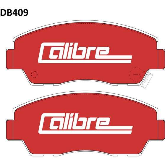 Calibre Disc Brake Pads - DB409CAL, , scaau_hi-res