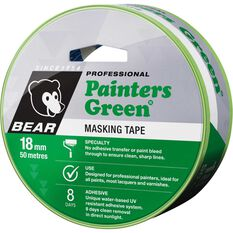 Norton Painters Masking Tape - Green, 18mm x 50m, , scaau_hi-res