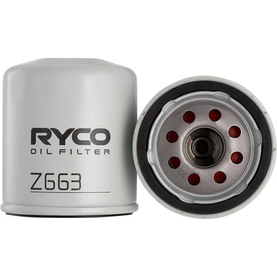 Ryco Oil Filter - Z663, , scaau_hi-res