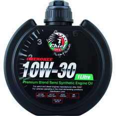 Chief Cherokee Engine Oil - 10W-30 1 Litre, , scaau_hi-res