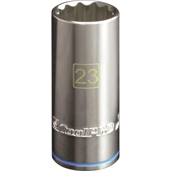 ToolPRO Single Socket - Deep, 1 / 2 inch Drive, 23mm, , scaau_hi-res