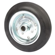 SCA Wheel Metal Rim - 200 x 45mm, Rubber, , scaau_hi-res