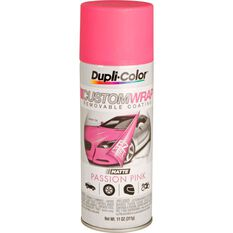 Dupli-Color Aerosol Paint Custom Wrap Matte Passion Pink 311g, , scaau_hi-res