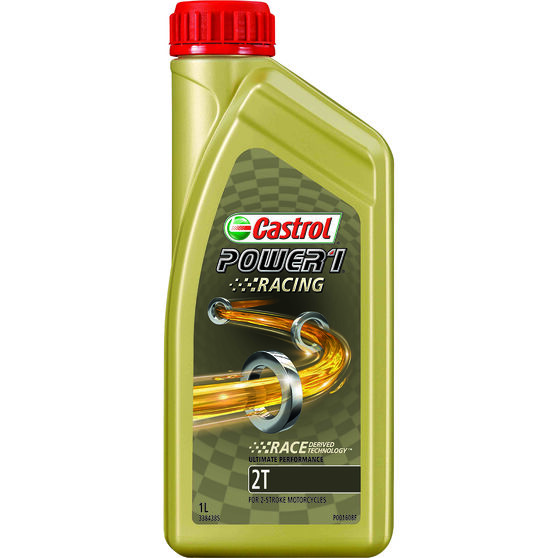 Castrol Power 1 TTS Motorcycle Oil - 1 Litre, , scaau_hi-res