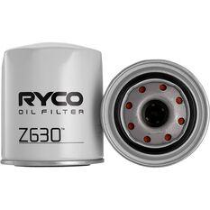 Ryco Oil Filter Z630, , scaau_hi-res