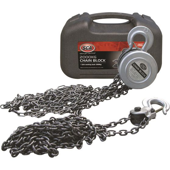 SCA Block and Tackle 3m Chain 2000kg, , scaau_hi-res