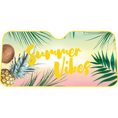 Summer Vibes Sunshade - Fashion, Accordion, Front, , scaau_hi-res