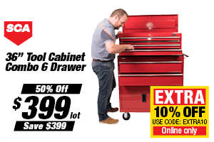SCA Tool Cabinet