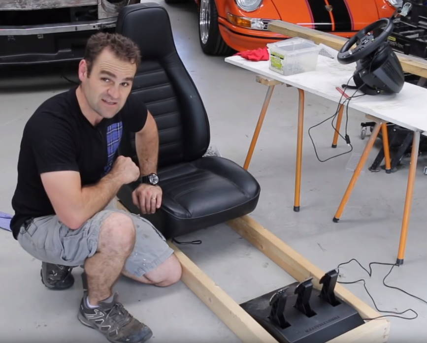 What you'll need to build a DIY Racing Simulator