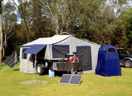 KT Solar 120W Portable Folding Solar Panel