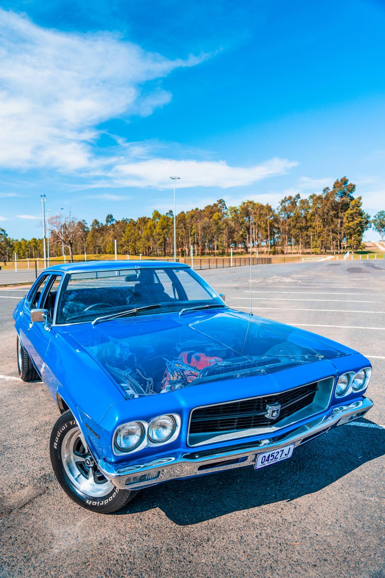 1972 Holden HQ Premier Sedan - Rear View