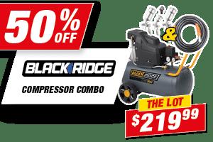 Blackridge Air Compressor Combo