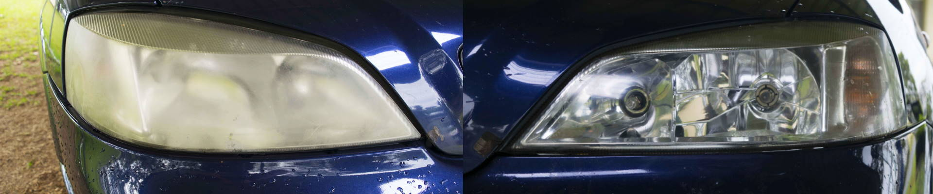 Before after headlights