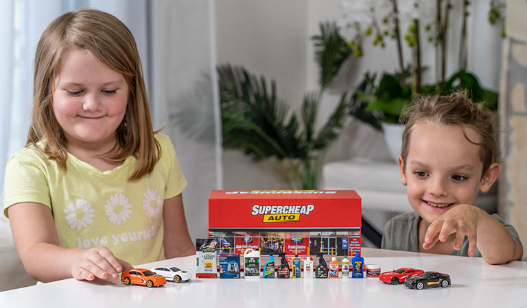 Children Playing with Supercheap Minis