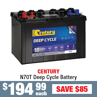 Century Deep Cycle Battery N70T