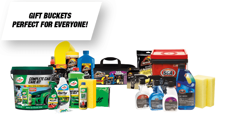 Car Care Gift Buckets