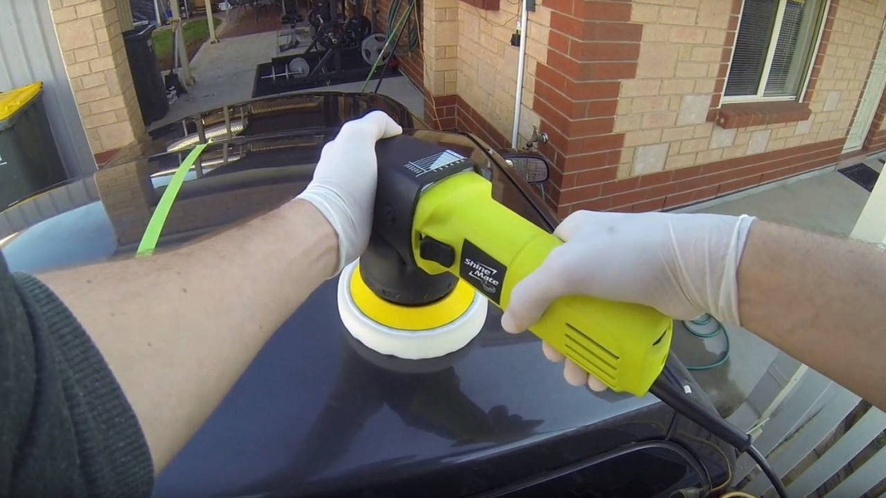 Buffing paint
