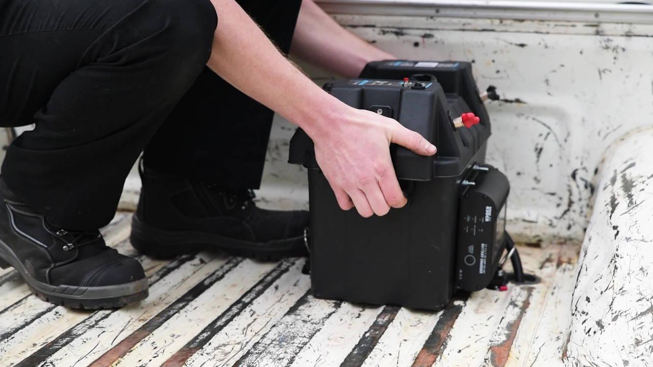Installing a Battery Box