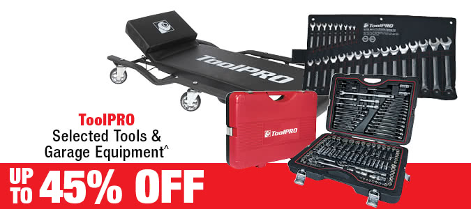 ToolPRO Selected Tools & Garage