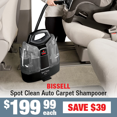 Bissell Spot Clean Auto Carpet Shampooer