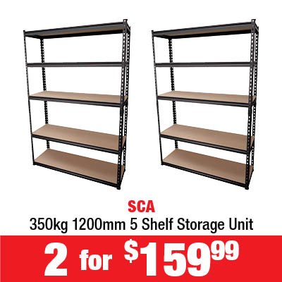 2 for $159.99 SCA Storage Unit