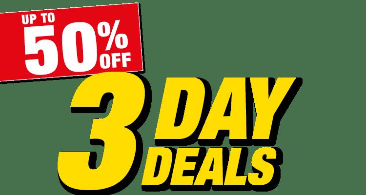 3 Day Deals