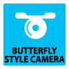 Butterfly cam